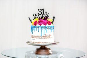 ozdobiony tort